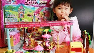 시크릿쥬쥬 빙글빙글 동물원 장난감 놀이  Secret JouJu Zoo Zoo Play Set Toys Unboxing おもちゃ đồ chơi игрушка 라임튜브