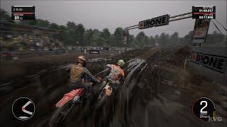 MXGP PRO - Rain Gameplay (PC HD) [1080p60FPS]