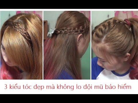 Hairstyles - 3 Kiểu Tóc Đẹp Không Lo Đội Mũ Bảo Hiểm