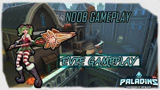 Noob Gameplay | Paladins: Evie Gameplay