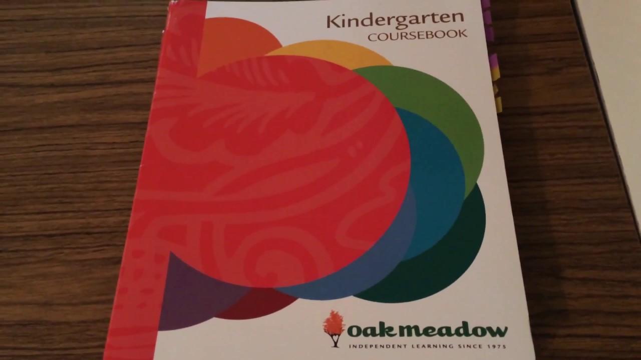 Oak Meadow Kindergarten Curriculum
