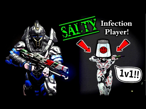 When A NOOB Gets SALTY In Infection...