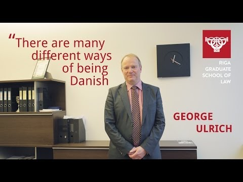 Rector of RGSL George Ulrich on Promoting Tolerance in Europe