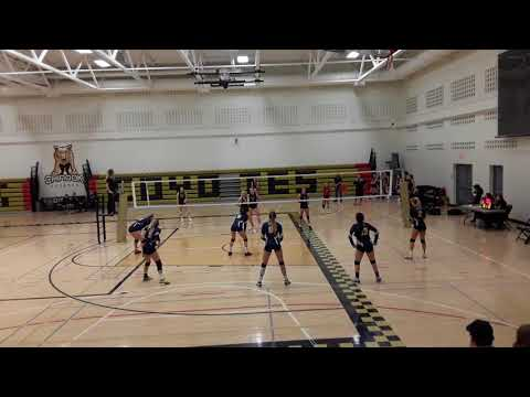 Jade Bussard: Notre Dame vs Chinook Set 1 of 3