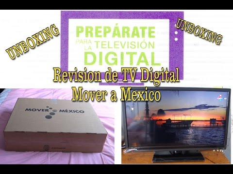 Revisión de TV Digital Mover a Mexico (Unboxing)