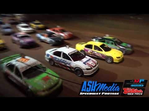 Modified Sedans: A-Main - Queensland Title - Maryborough Speedway - 06.05.2018