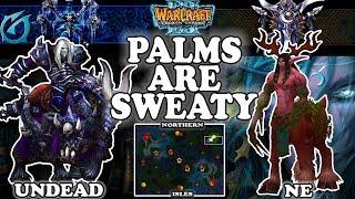 Grubby   Warcraft 3 TFT   1.30   UD v NE on Northern Isles - Palms are Sweaty