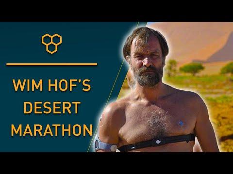 Iceman Wim Hof Desert Walk