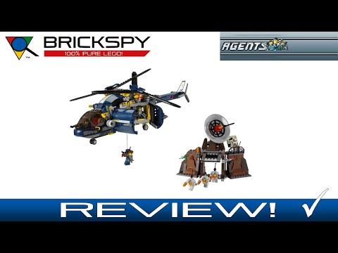 LEGO Agents 8971 - Aerial Defense Unit - Review