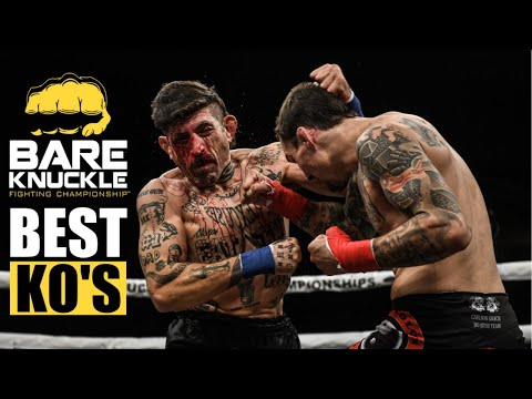 Unbelievable Knockouts! Best KO's of Bare Knuckle Fighting!