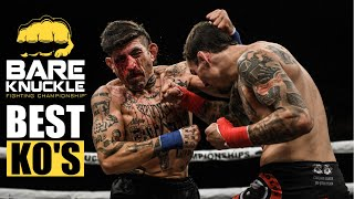 Check out these unbelievable ko's (vol 1.) from bare knuckle fighting championship! did your favorite knockout make the list? sure to leave us a comment...