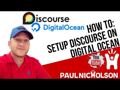 How To Setup Discourse On Digital Ocean Build Your Own Forum/Community