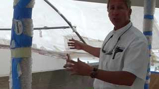 Custom Fiberglass Sundeck Jacuzzi, Wet Bar, & Stairs