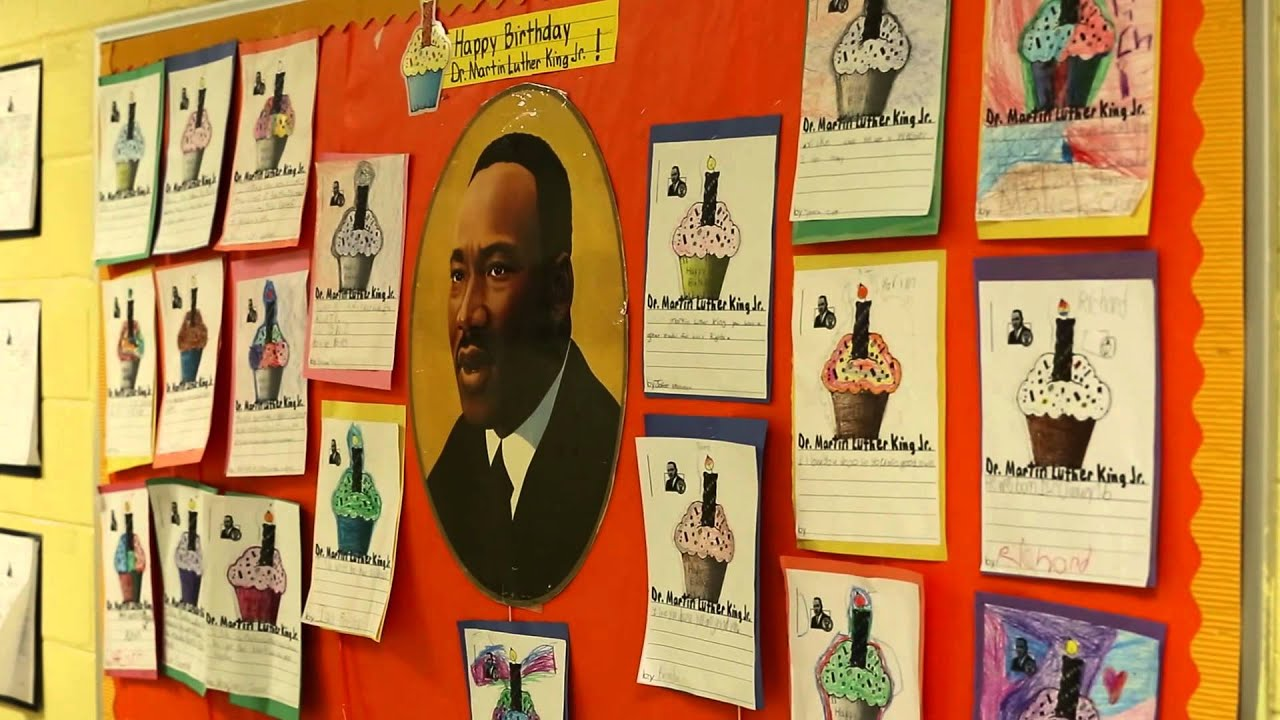 Learning Through Giving At Martin Luther King Day Of Service Youtube