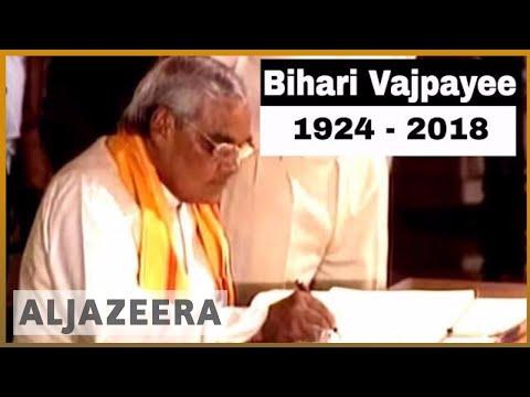 🇮🇳 Former Indian PM Atal Bihari Vajpayee dies | Al Jazeera English