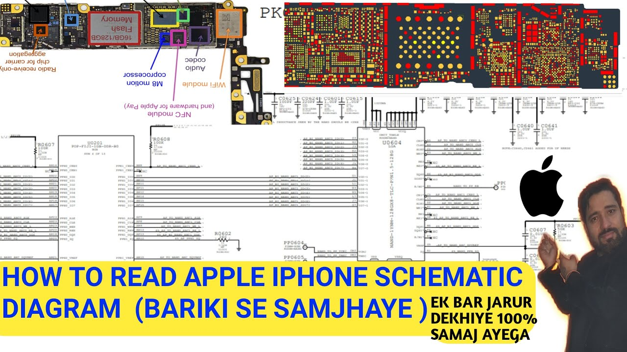 How To Read Iphone6 Schematic Diagram