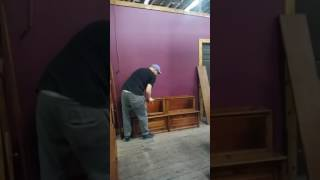 Raccoon Forks Trading Company: Assembling Barrister Bookcase