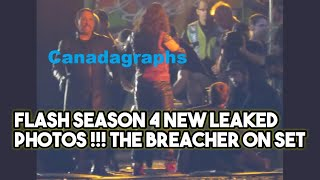 FLASH NEW SET PHOTOS ! FLASH SEASON 4 NEW SET PHOTOS !! THE BREACHER ON SET ! FLASH 4X04 !! FLASH 4