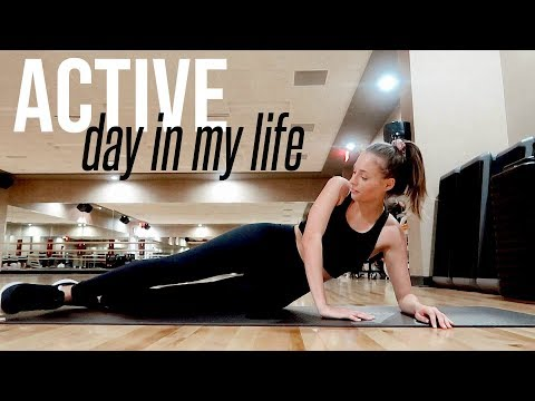 ACTIVE Day In My Life | Workouts, Healthy Food, Getting Things Done