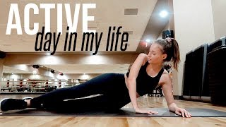 Busy day in my life | balancing a social life, healthy food, gym workout, & more use code renee80 for 80$ off your first 4 orders of home chef here: h...