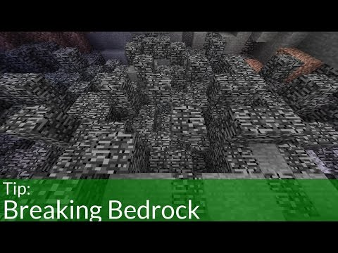 Thumbnail: How to Break Bedrock in Minecraft