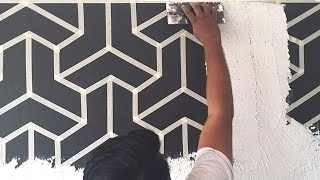Cool and easy wall texture  ideas to transform your walls