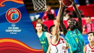 China v Australia - Full Game - Final - FIBA U16 Asian Championship