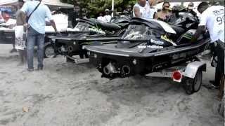 Le bruit du moteur de la Machine du LOUP Martinik Cup 2012