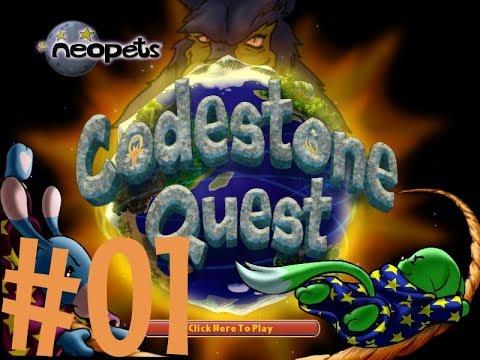 Neopets Codestone Quest ! Episode #01 : MAGICAL WORLD