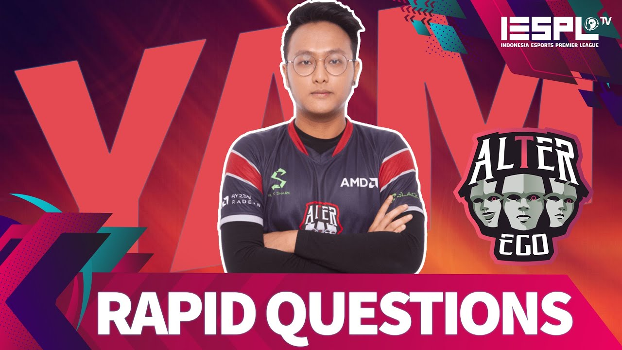 Rapid Questions: Selain Mobile Legends, YAM Alter Ego Juga Suka Drama Korea