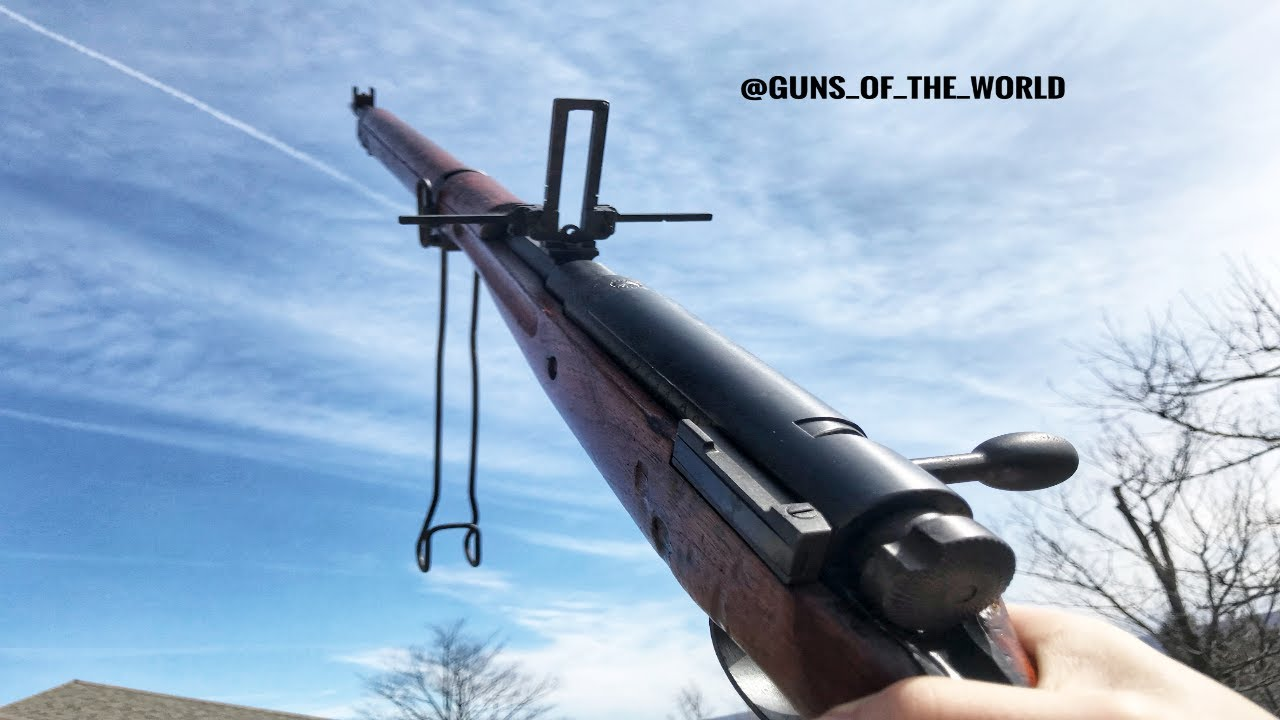 Arisaka Type 99 Early War With Monopod, AA Sights, and Dust Cover