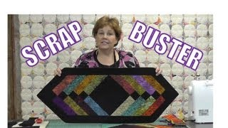 This video is not available. Scrap Buster! Make Easy Table Runner Using the Binding Tool!