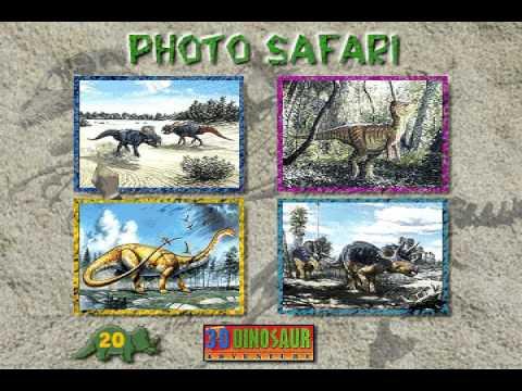 3D Dinosaur Adventure Photo Safari