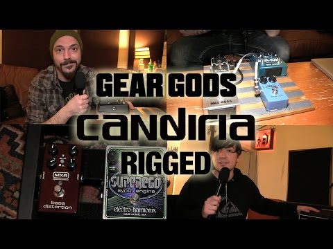 """Rigged: CANDIRIA """"While They Were Sleeping"""" Recording Rig   GEAR GODS"""