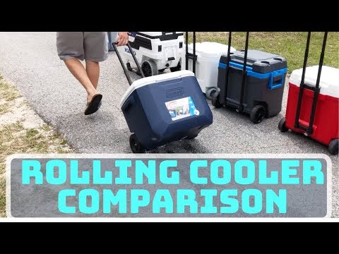 Best Cooler With Wheels- A Rolling Cooler Comparison