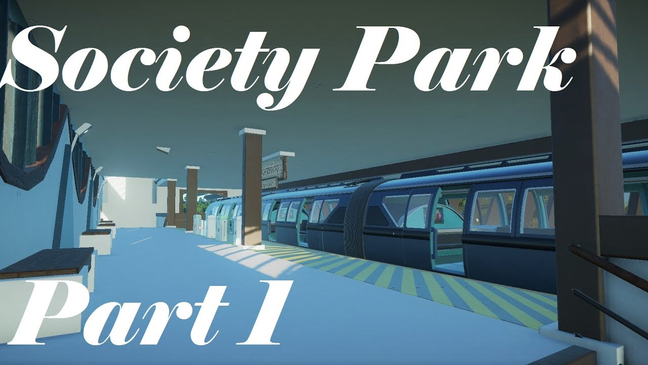 Planet Coaster | Society Park Part 1 #1