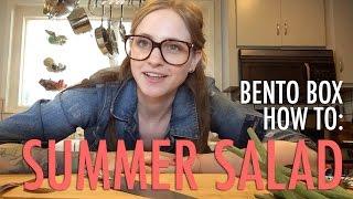 Bento Box How To: Summer Salad With Quinoa & Avocado