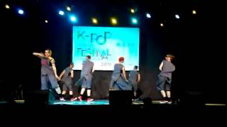 K-POP World Festival 2015 ➞ UA SELECTION EXO Wolf by Buga-Buga  엑소 - 늑대와 미녀