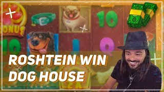 🏆 ROSHTEIN BIG WIN on Dog House Slot 🐕 Top 5 Biggest Wins of Week