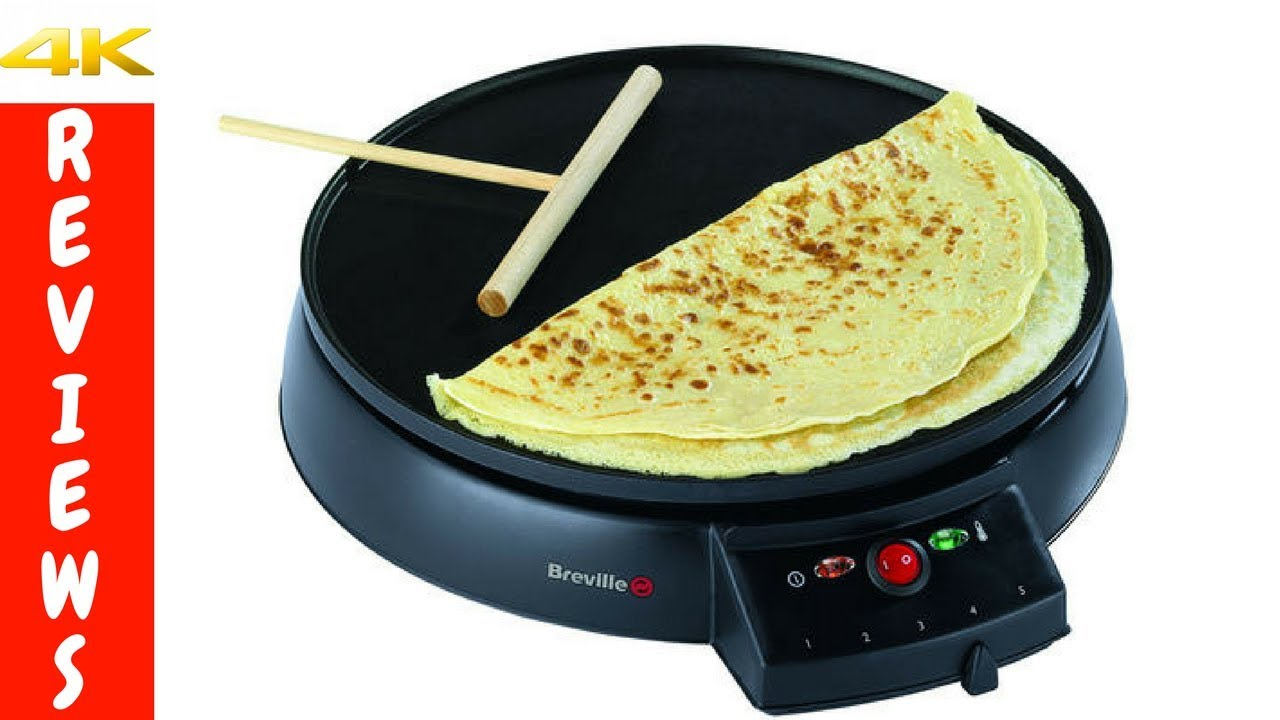 Easy Way To Make Crepes At Home With The Crepe Maker Review And Unboxing Youtube