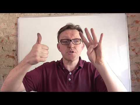 Как считать умножение на пальцах
