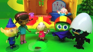 BEN E HOLLY STORIE IN ITALIANO - Nuovo episodio in italiano con Calimero , giocattoli per bambini