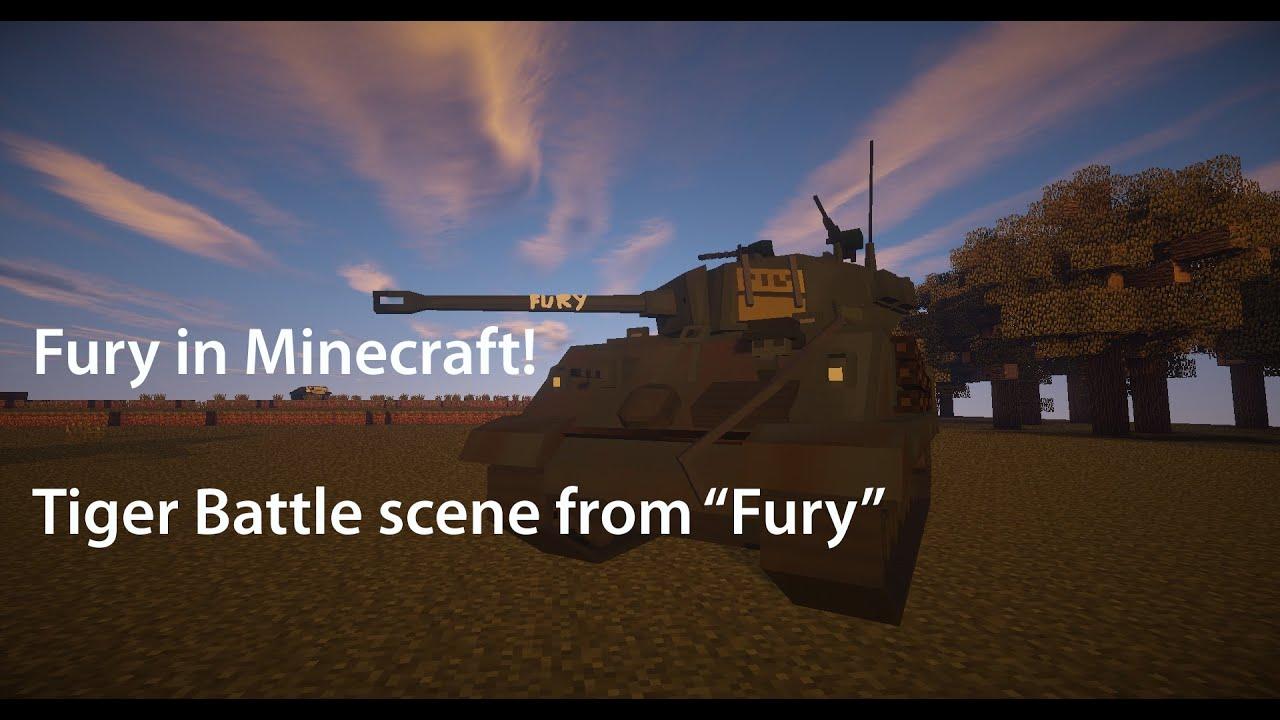 Flan's mod 4 10 - Easter Teaser Trailer : Tiger Battle Scene from Fury