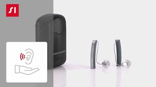 How to turn your Styletto hearing aids on and off
