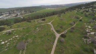 XJ470 quadcopter flight. Israel.  Hard landing. #2