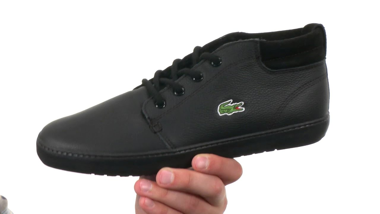 2bc3908f1 Lacoste Ampthill Terra Put SKU 8616600 - YouTube