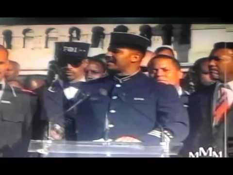 1995  Million Man March the introduction of the Honorable Minister Farrakhan.