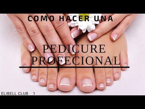 COMO HACER UN PEDICURA PROFESIONAL PARTE 1♥ CLUB DE BELLEZA ELIBELL ♥
