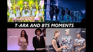 Download T-ARA AND BTS MOMENTS  - CUTE INTERACTION ALL MOMENTS 2013 -2018