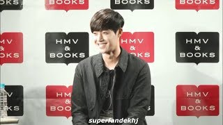 "[2018.09.25] Kim Hyun Joong 김현중 nicovideo Live ~ ""Wait for me"" Special Event at HMV & BOOKS SHIBUYA thumbnail"